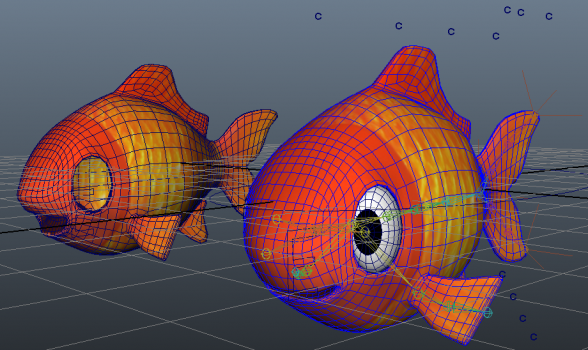 smoothed meshes