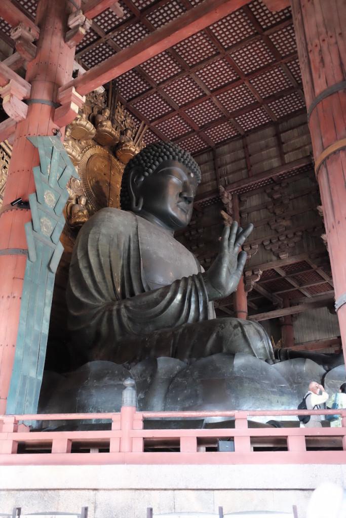 big buddha in Todaiji