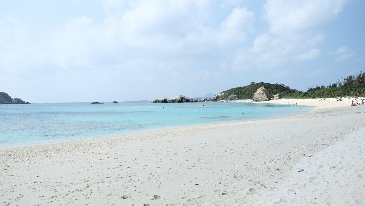 Aharen Beach, Tokashiki, Okinawa