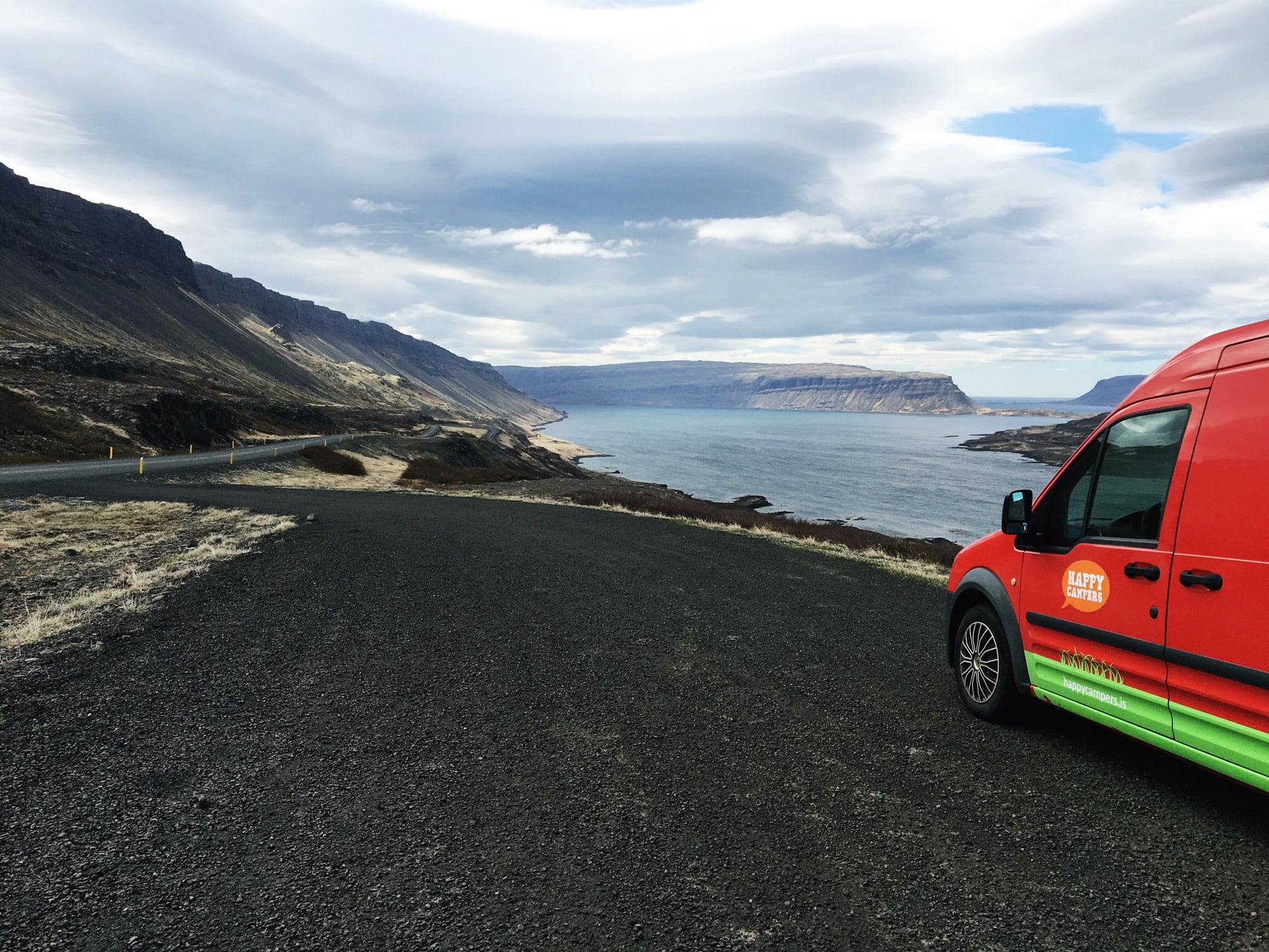 driving around in Iceland