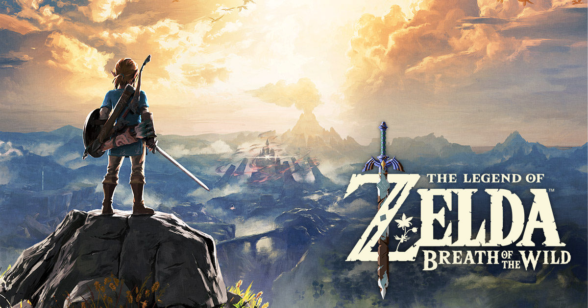 Zelda: Breath of the Wild cover art