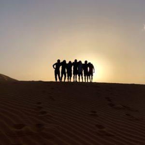 squadding up in Sahara