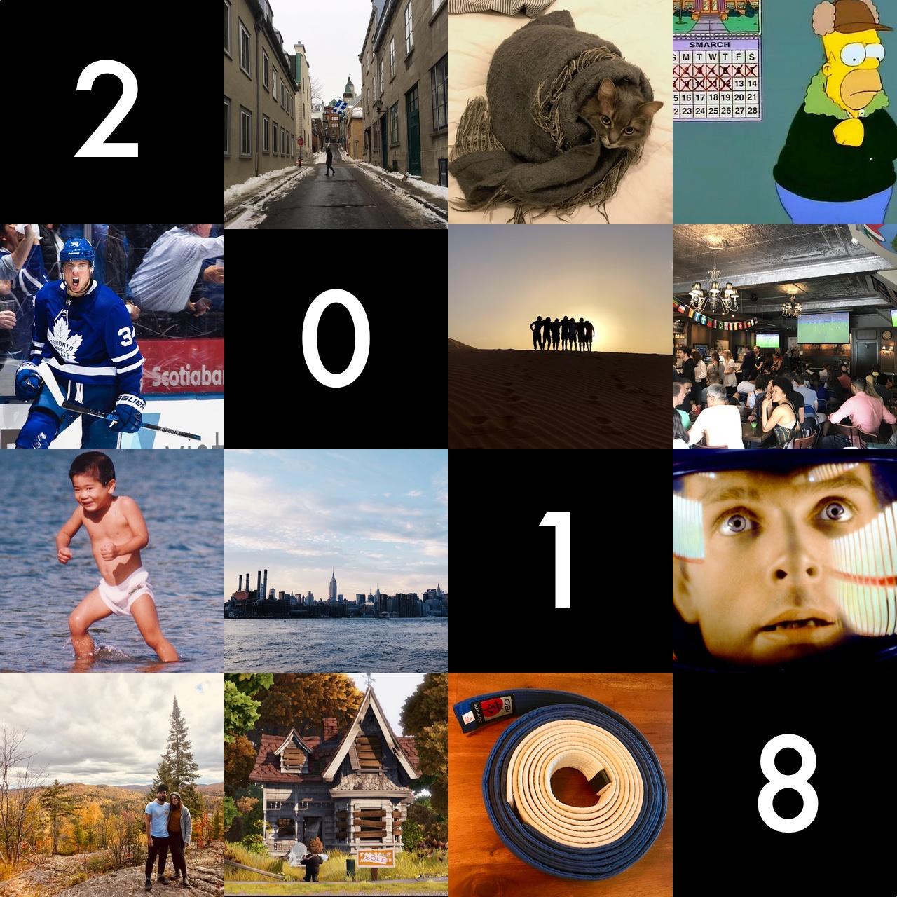 Tetchi's 2018 year in summary