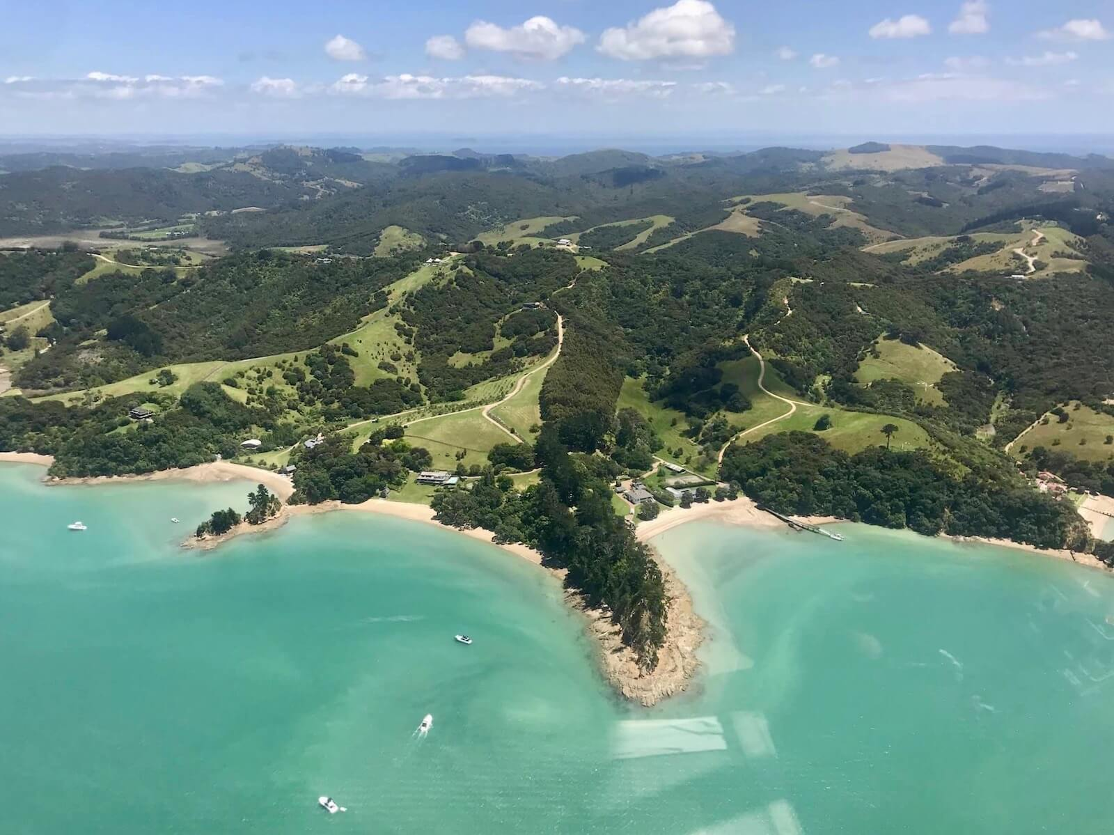 helicopter ride to cook's beach