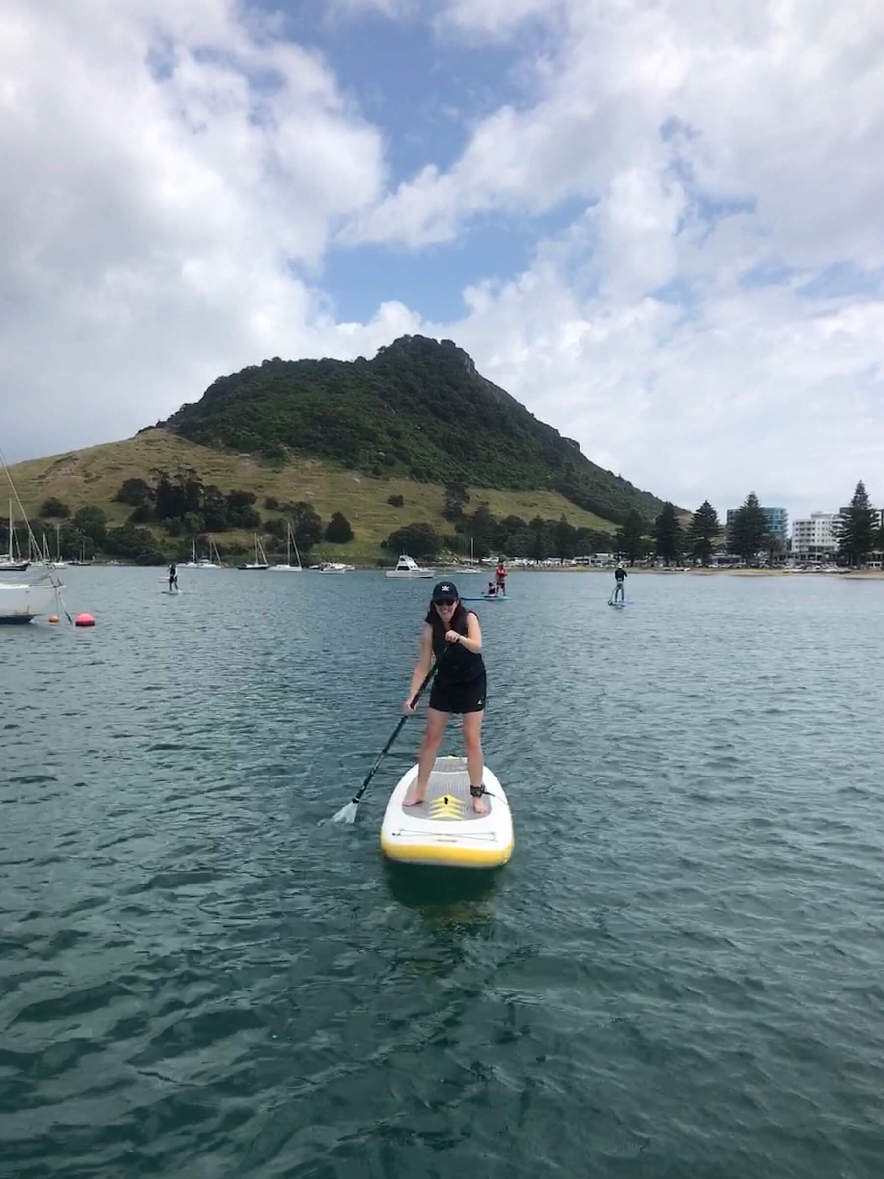 paddle-boarding in Mt Maunganui