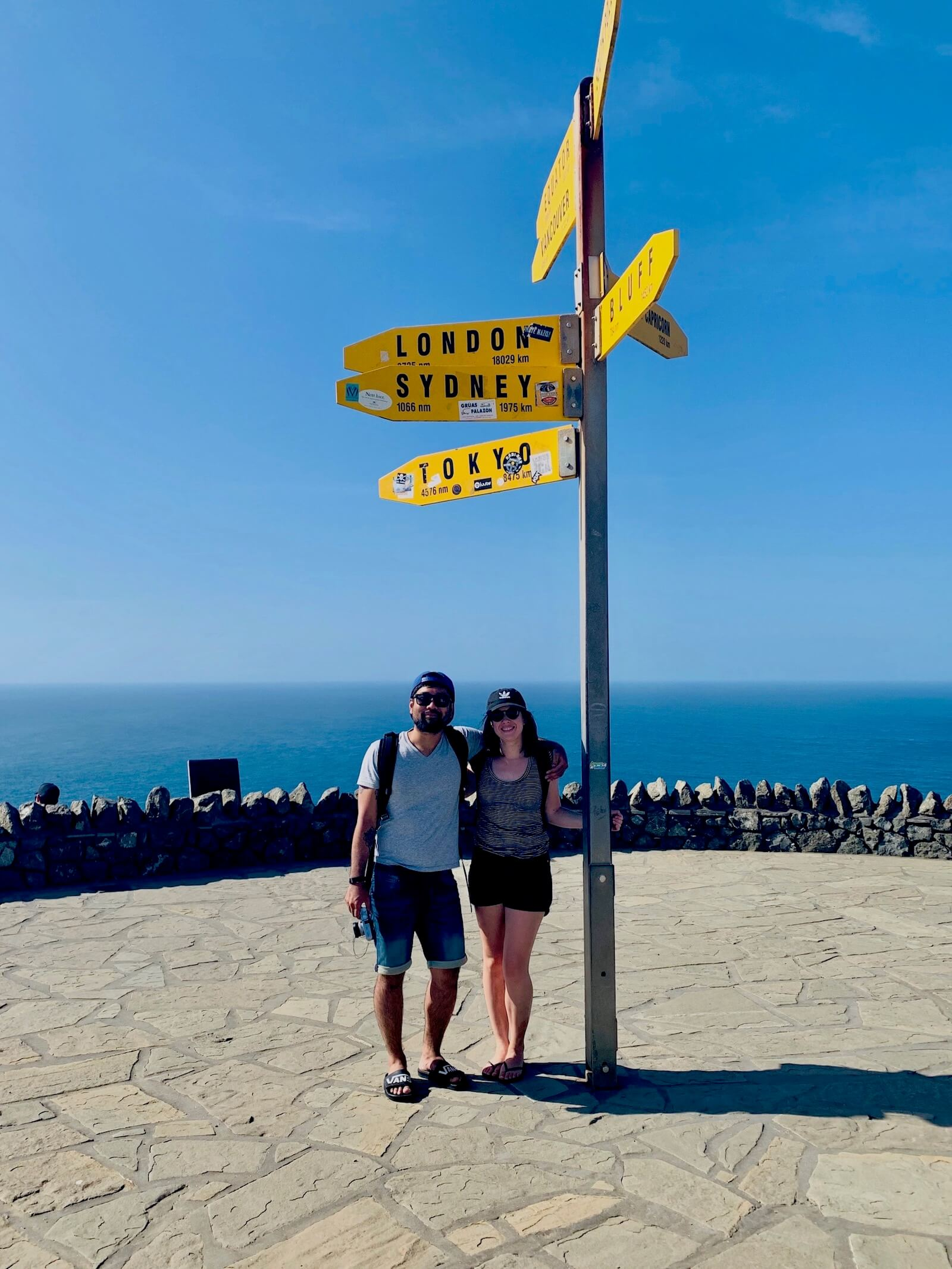 She said yes! In Cape Reinga lookout.