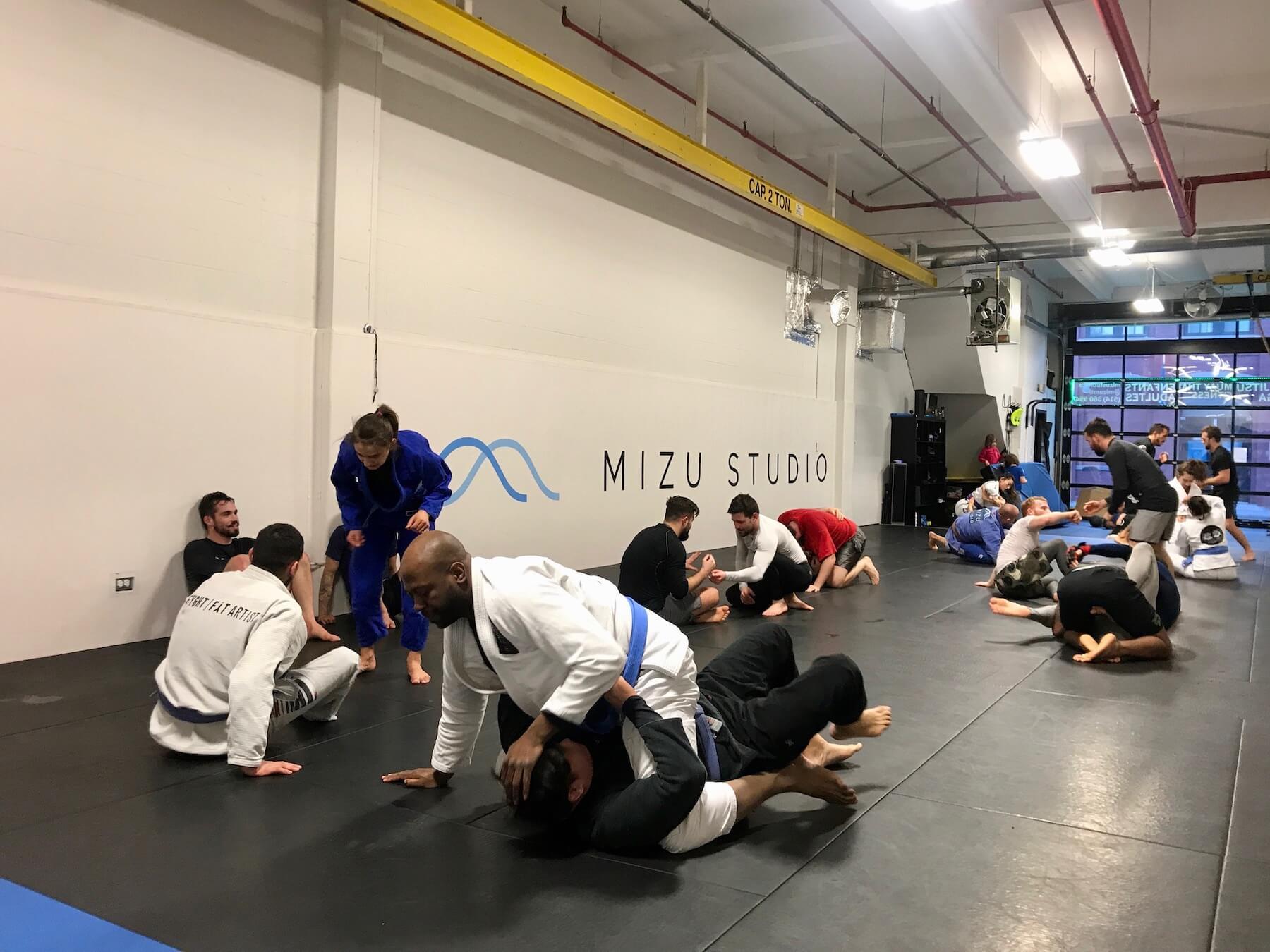 Training at Mizu